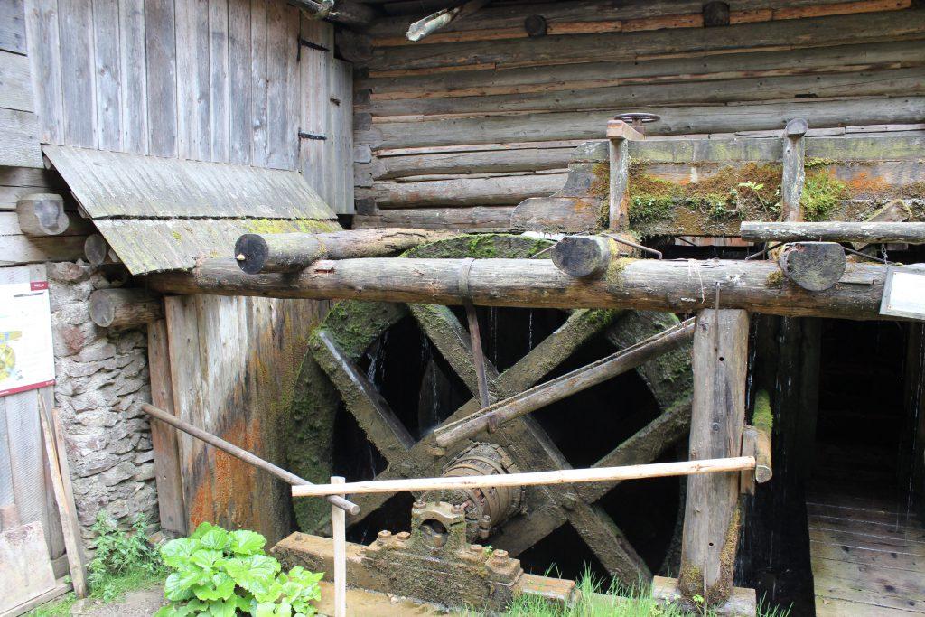 Un molino que esta en una de las primeras paradas del parque nacional Tatra