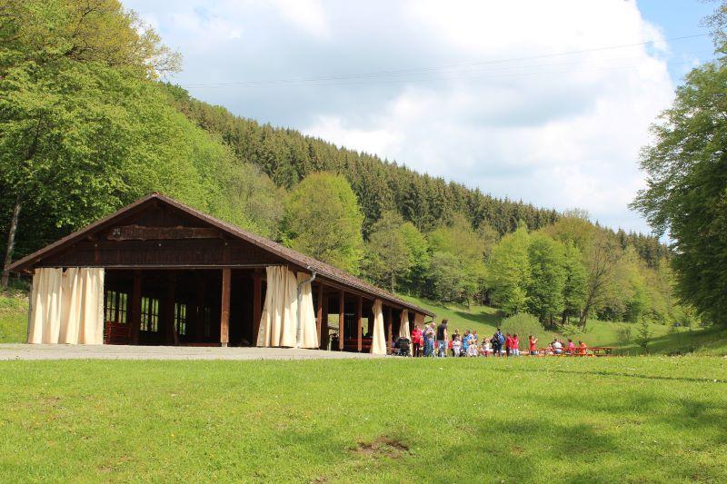 Wildpark Heigenbrücken donde hacen conferencias y actividades